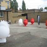 Creative Fibreglass Sculptures