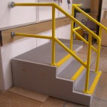 GRP Composite Moulding of Stairs